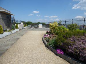 プレミール 屋上庭園
