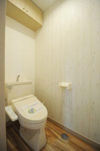 雪月花 207 トイレ ウォシュレット付き